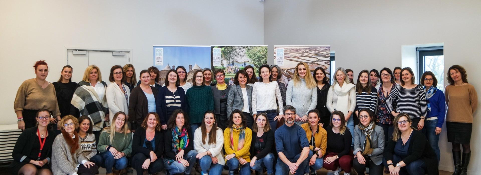 L'équipe de l'Office de Tourisme La Baule - Pesqu'île de Guérande