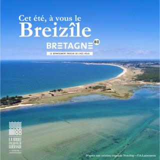 Cet été, à vous le Breizîle - © OTI La Baule - Presqu'île de Guérande / CRT Bretagne