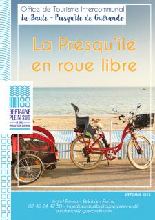 Dossier de presse la-presqu-ile-en-roue-libre office de tourisme la baule guérande