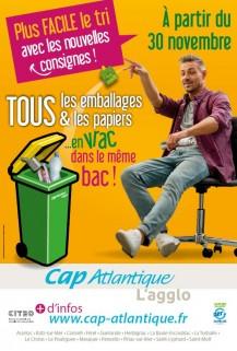 Tri des déchets - Cap Atlantique