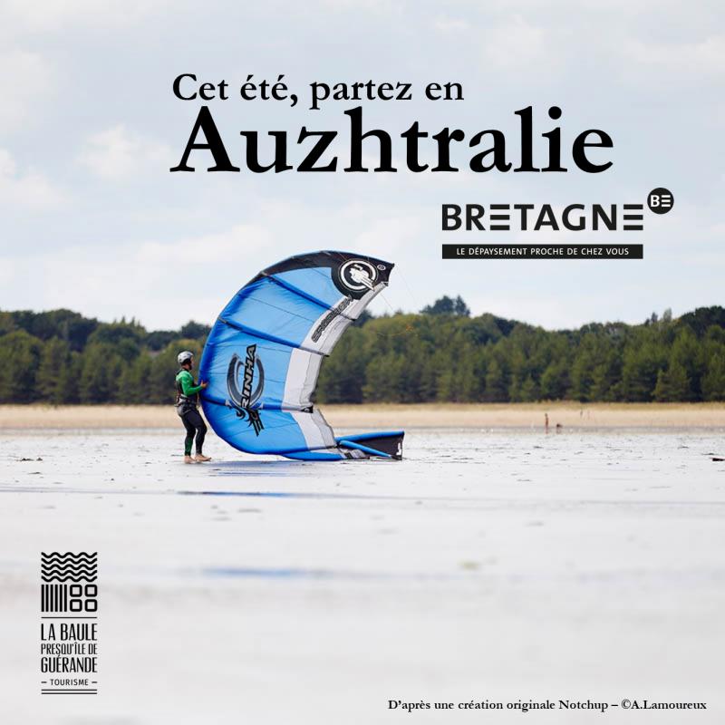 Cet été, partez en Auzhtralie © OTI La Baule - Presqu'île de Guérande / CRT Bretagne