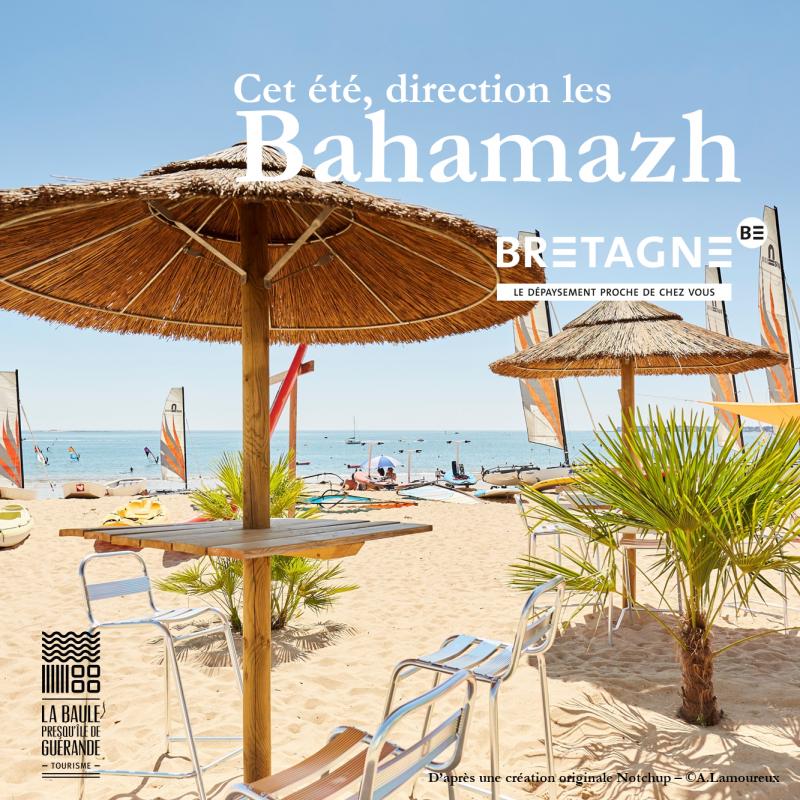 Cet été, direction les Bahamazh - © OTI La Baule - Presqu'île de Guérande / CRT Bretagne