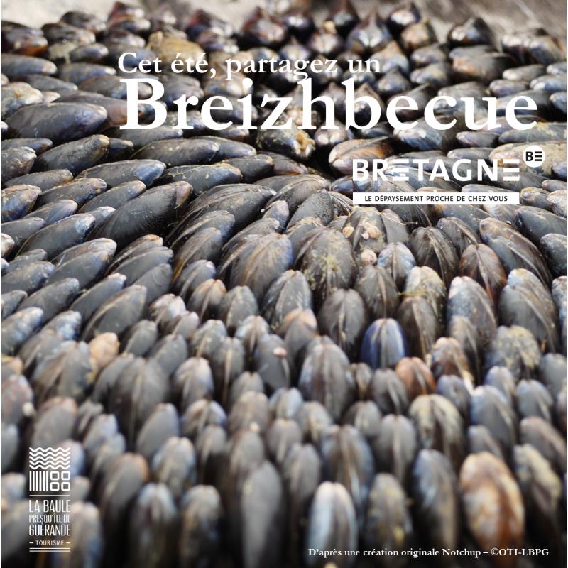 Cet été, partagez un Breizhbecue - © OTI La Baule - Presqu'île de Guérande / CRT Bretagne