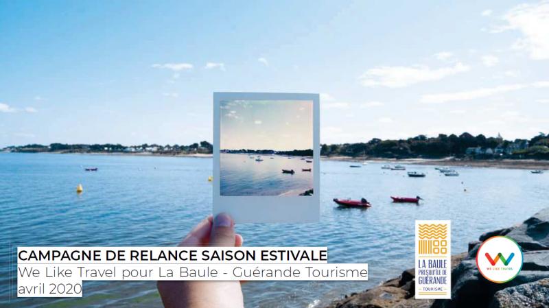 Campagne de relance saison estivale avec We Like Travel