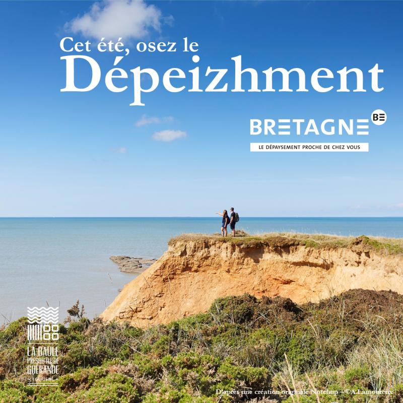 Cet été, osez le Dépeizhment - © OTI La Baule - Presqu'île de Guérande / CRT Bretagne