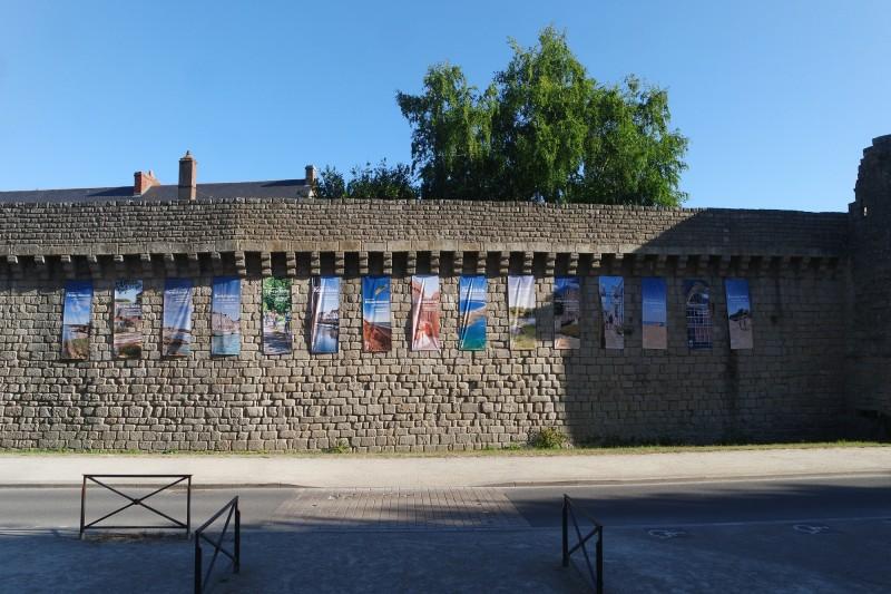 kakemono-breizh-remparts-de-guerande-OTI La Baule- Presqu'île de Guérande