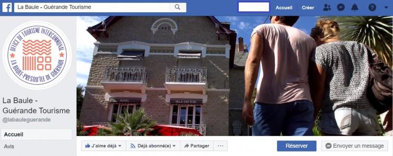 Page Facebook Destination La Baule Presqu'île de Guérande