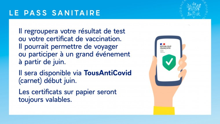pass sanitaire juin